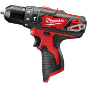 "Milwaukee® 2408-20 M12™ 3/8"" Hammer Drill/Driver (Bare Tool Only)"