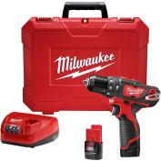 "Milwaukee® 2408-22 M12™ 3/8"" Hammer Drill/Driver Kit"