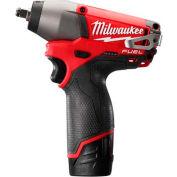 "Milwaukee® 2454-22 M12 FUEL™ 3/8"" Drive Impact Wrench Kit"