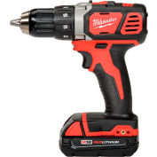 "Milwaukee 2606-22CT M18 1/2"" Cordless Compact Drill/Driver Kit"