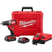 "Milwaukee® 2604-22 M18 FUEL™ 1/2"" Hammer Drill Driver Kit"