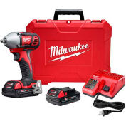 "Milwaukee 2658-22CT M18 3/8"" Impact Wrench W/ Friction Ring Compact Kit"