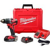 "Milwaukee 2801-22CT M18™ 1/2"" Compact Brushless Drill/Driver Kit"