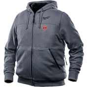 Milwaukee® 302G-21L M12™ Heated Hoodie Kit - Gray - L