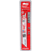 "Milwaukee® 48-00-5184 6"" 18 TPI SAWZALL® Blade (5 Pack)"