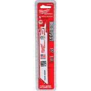 """Milwaukee® 48-00-5184 6"""" 18 TPI SAWZALL® Blade (5 Pack)"""