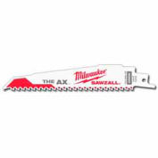 "Milwaukee® 48-01-7026 9"" 5 TPI The Ax™ SAWZALL® Blade  - Pkg Qty 100"