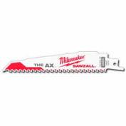 "Milwaukee® 48-01-7026 9"" 5 TPI The Ax™ SAWZALL® Blade  - Pkg Qty 100"
