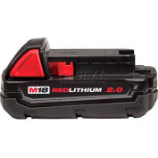 Milwaukee® 48-11-1820 M18™ REDLITHIUM™ 2.0 AH Compact Battery