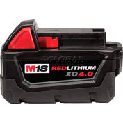 Milwaukee® 48-11-1840 M18™ REDLITHIUM™ 4.0 AH Extended Capacity Battery