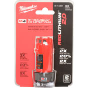 Milwaukee® 48-11-2001 4V Li-Ion M4 Battery 2Ah