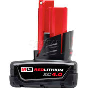 Milwaukee® 48-11-2440 M12™ REDLITHIUM™ XC 4.0 Extended Capacity Battery