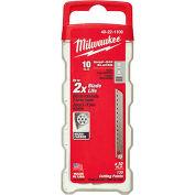 Milwaukee® 48-22-1109 10 Pc Snap Blade 9mm