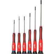 Milwaukee® 48-22-2606 6 Pc. Precision Screwdriver Set W/ Case