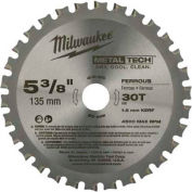 "Milwaukee® 48-40-4070 5-3/8"" 30 Teeth Ferrous Metal Circular Saw Blade"