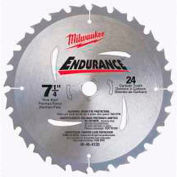 "Milwaukee® 48-41-0720 7-1/4"" 24 Carbide Teeth Circular Saw Blade"