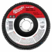 Milwaukee® 48-80-8012, 4-1/2 In X 5/8 In-11 Flap Disc 80 Grit (Type 29) - Pkg Qty 5