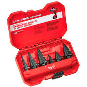 Milwaukee® 48-89-9224 Step Bit 6Pc Set (#1, #4, #6, #7, #8, #9)