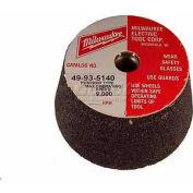 "Milwaukee® 49-93-5220 Type 11 Metal Cup Wheel - 5""x5/8-11 16 Grit"