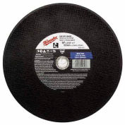 "Milwaukee® 49-94-4500 Type 1 Cut-Off Wheel - 4-1/2""X0.045""X7/8"" - Pkg Qty 25"