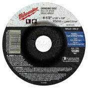 "Milwaukee® 49-94-4570 Type 27 Grinding Wheel - 4-1/2""X1/4""X7/8"" - Pkg Qty 10"