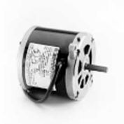 Marathon Motors Oil Burner Motor, O012, 48C34S24, 1/5HP, 3600RPM, 115/230V, 1PH, 48N, Semi Enclosed