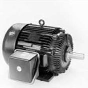 Marathon Motors Severe Duty Motor, W523, 184THFS9001, 5HP, 460V, 3600RPM, 3PH, 184T FR, TEFC