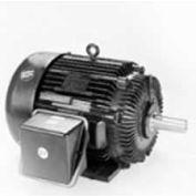 Marathon Motors Severe Duty Motor, W525, 184THFS9026, 5HP, 460V, 1800RPM, 3PH, 184T FR, TEFC