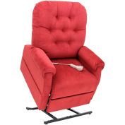 "Mega Motion Three Position Power Lift and Recline, 20""W x20""D Seat, Burgundy, 325 lbs Capacity"