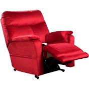 Mega Motion Cloud 3 Position Power Lift Recliner Chair - Crimson