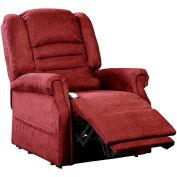 Mega Motion Serene Power Recliner with Lift Chair - Infinite Position - Burgundy