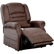 Mega Motion Serene Power Recliner with Lift Chair - Infinite Position - Chocolate