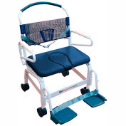 "Mor-Medical Euro Shower Commode Chair, 500 lbs. Capacity, 26""W Seat"