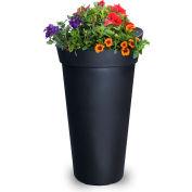"Mayne® 5881-B Creston 28.5"" Tall Planter - Black"