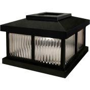 Mayne Solar Cap LZM-625-B - Black for Mailbox Post