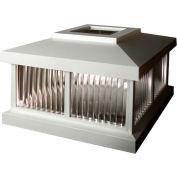 Mayne Solar Cap LZM-625-W - White for Mailbox Post