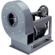"Peerless Radial Blade Blower Belt Drive, 1 HP, 230/460V, 12-1/2"" Wheel, Three Phase, TEFC, CCW, UB"
