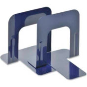 """MMF Industries Economy Bookends 5-3/16"""" High Blue 2 Pack"""