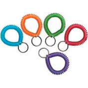 MMF Wrist Coil 20145AP47 - Assorted Colors, Retail Packaging, Pack of 10 Coils - Pkg Qty 10