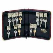 MMF STEELMASTER® Portable 24-Key Case 201502417 Burgundy