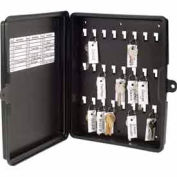 MMF STEELMASTER® 24-Key Storage Box 201712404 Black
