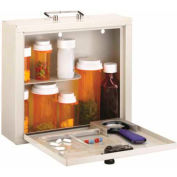 Med-Master™ Deluxe Steel Med Case with Combination Lock