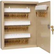 MMF STEELMASTER® Unitag™ 80 Key Cabinet 2019080M03 Master Lock Sand