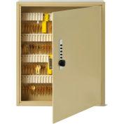 MMF STEELMASTER® Uni-Tag™ Key Cabinet 2019120S03 - 120 Key, Simplex Lock, Sand