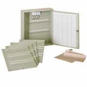 MMF STEELMASTER® Modular Key Cabinet 201KC60300PL - 60-300 Keys Platinum