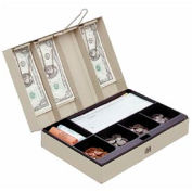 Cash Box With Combination Lock - Pkg Qty 2