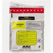 Tamper-Evident Deposit Bags - 9 x 12 White