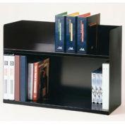 Two-Tier Steel Book Rack