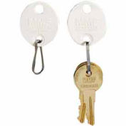 MMF Snap-Hook Oval Key Tags 5313260BD06 - Tags 161-180, White