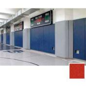 "Mancino Gym Wall Padding Series 700, 24""W x 60""L, Z-Clip, Red"